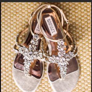 Badgley Mischka Hampden Sandals Bridal